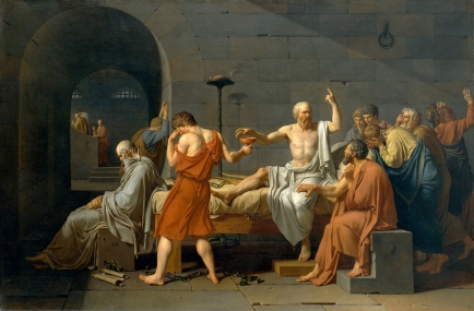 David_-_The_Death_of_Socrates 2