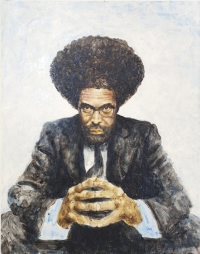 """Cornell West"" Acyrlic on Art Board 2013"